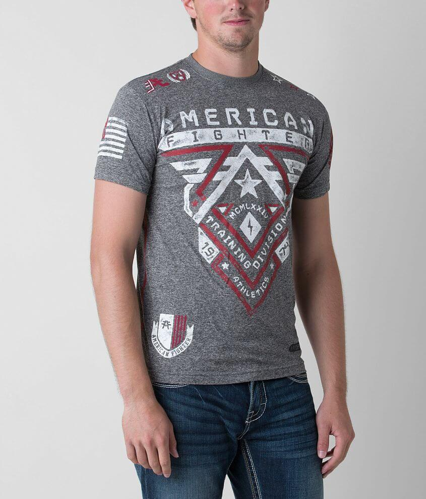 American Fighter Crossroads Hydrocore T-Shirt front view