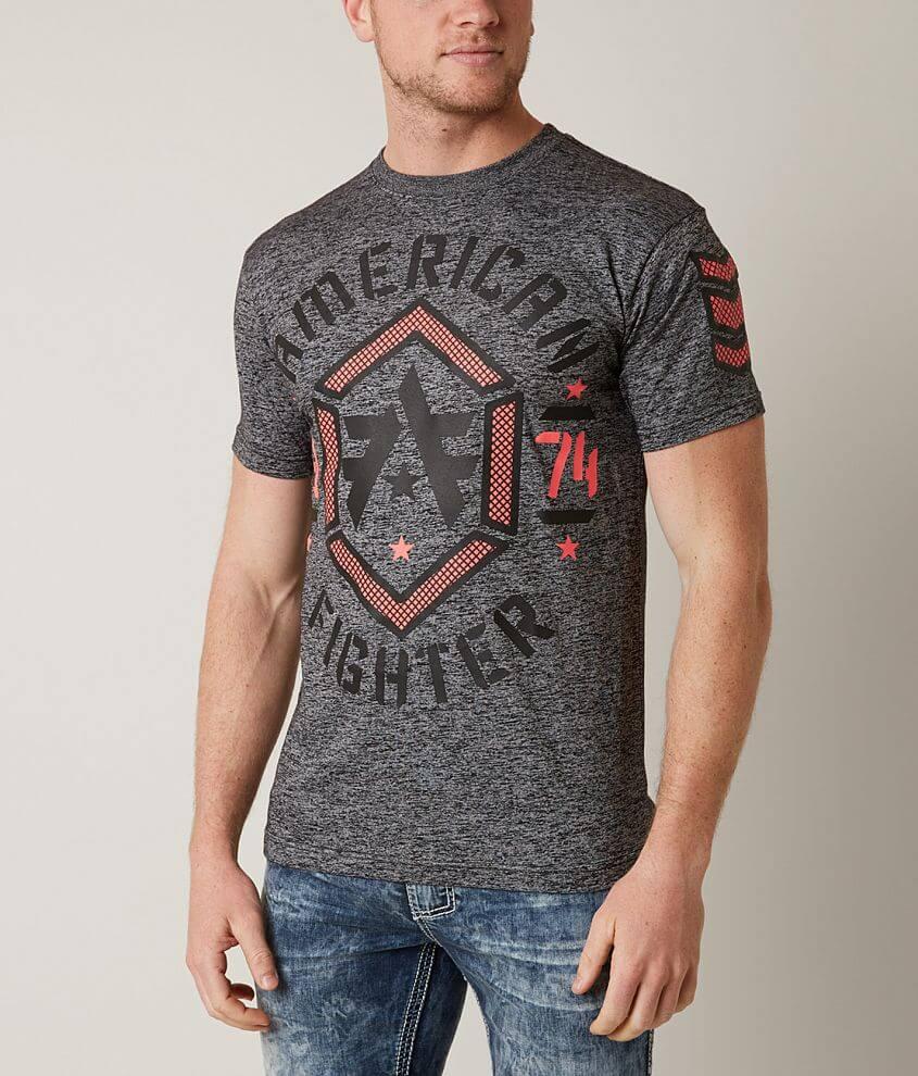 American Fighter Calvin Tech T-Shirt front view