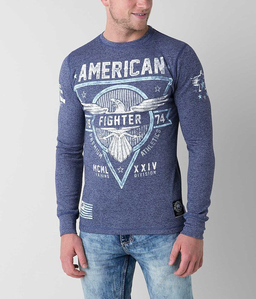 American Fighter Great Lakes Thermal Shirt front view