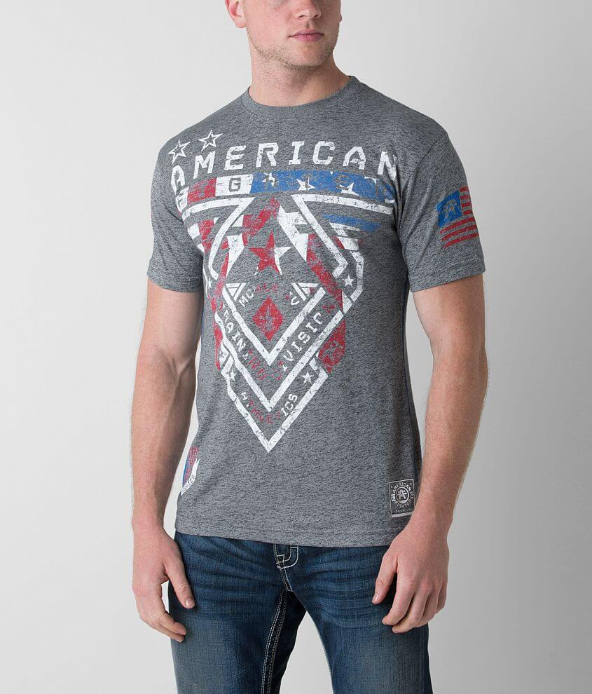 American Fighter Patriot T-Shirt front view