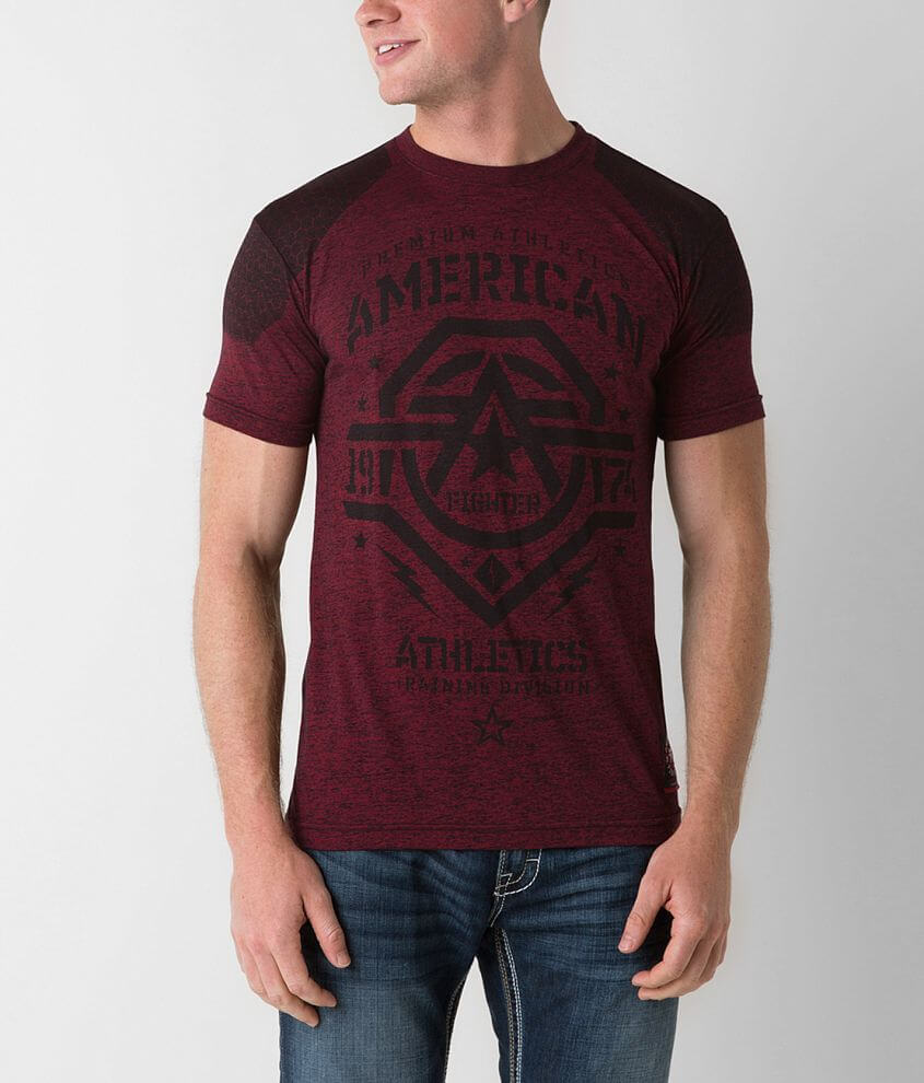 American Fighter Slippery Rock T-Shirt front view