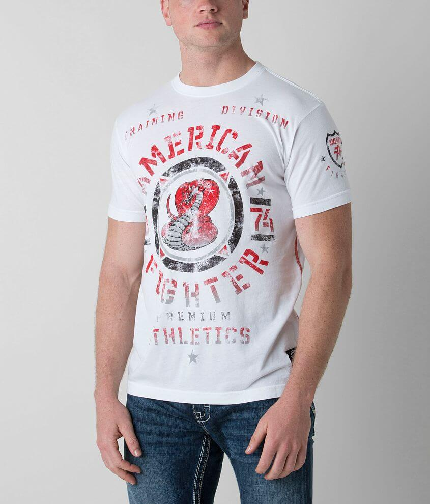 American Fighter Connecticut T-Shirt front view