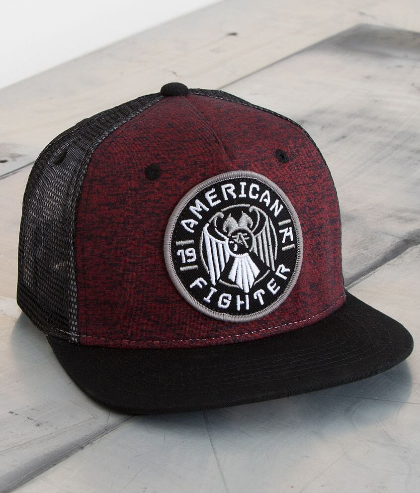 American Fighter Heritage Trucker Hat front view