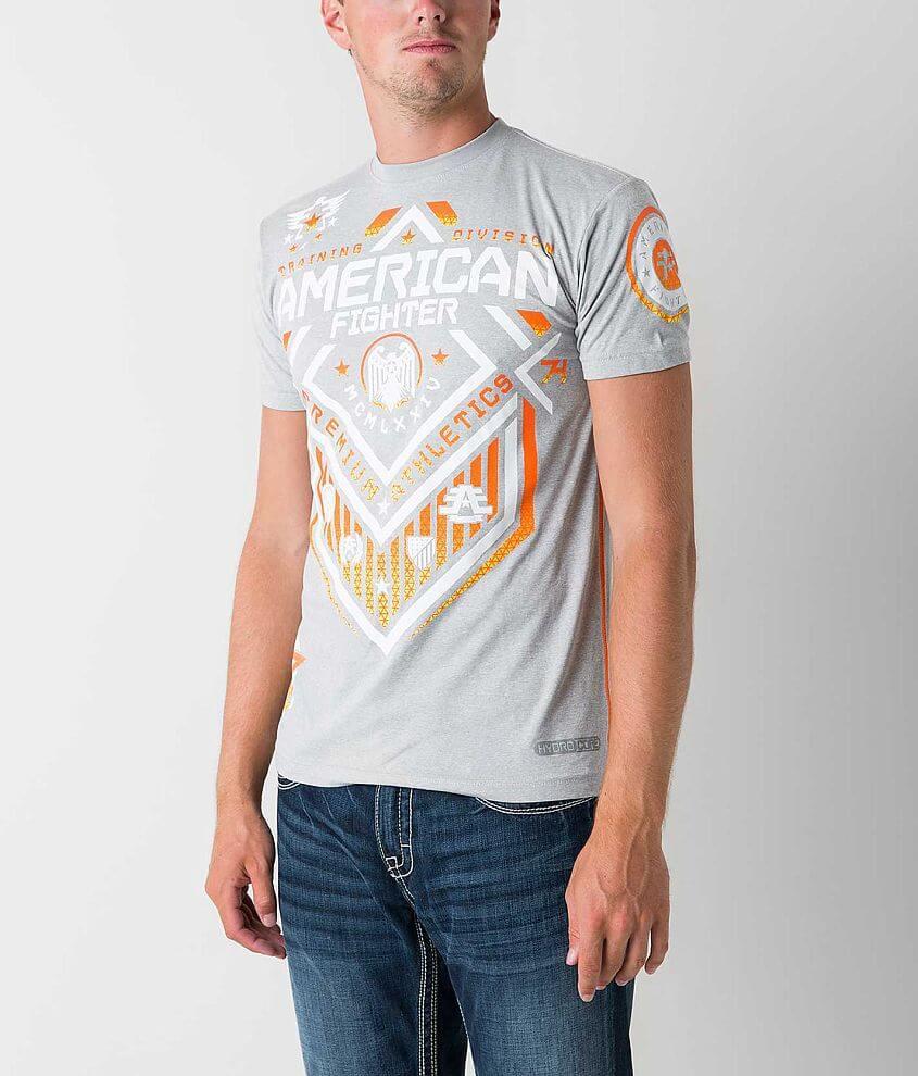American Fighter North Dakota Hydrocore T-Shirt front view