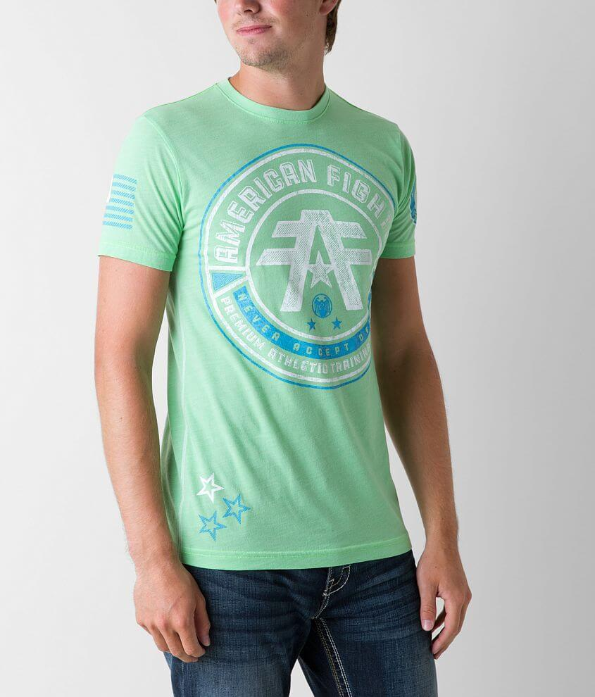 American Fighter Polytechnic T-Shirt front view
