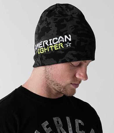 American Fighter North Dakota Beanie