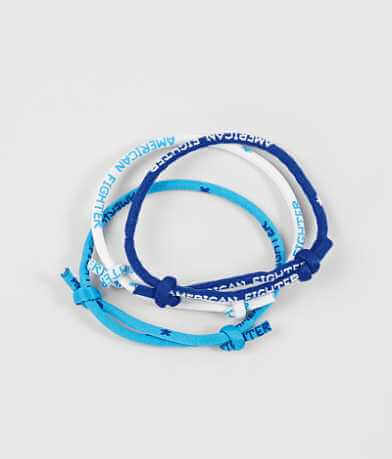 American Fighter Rope Bracelet Set