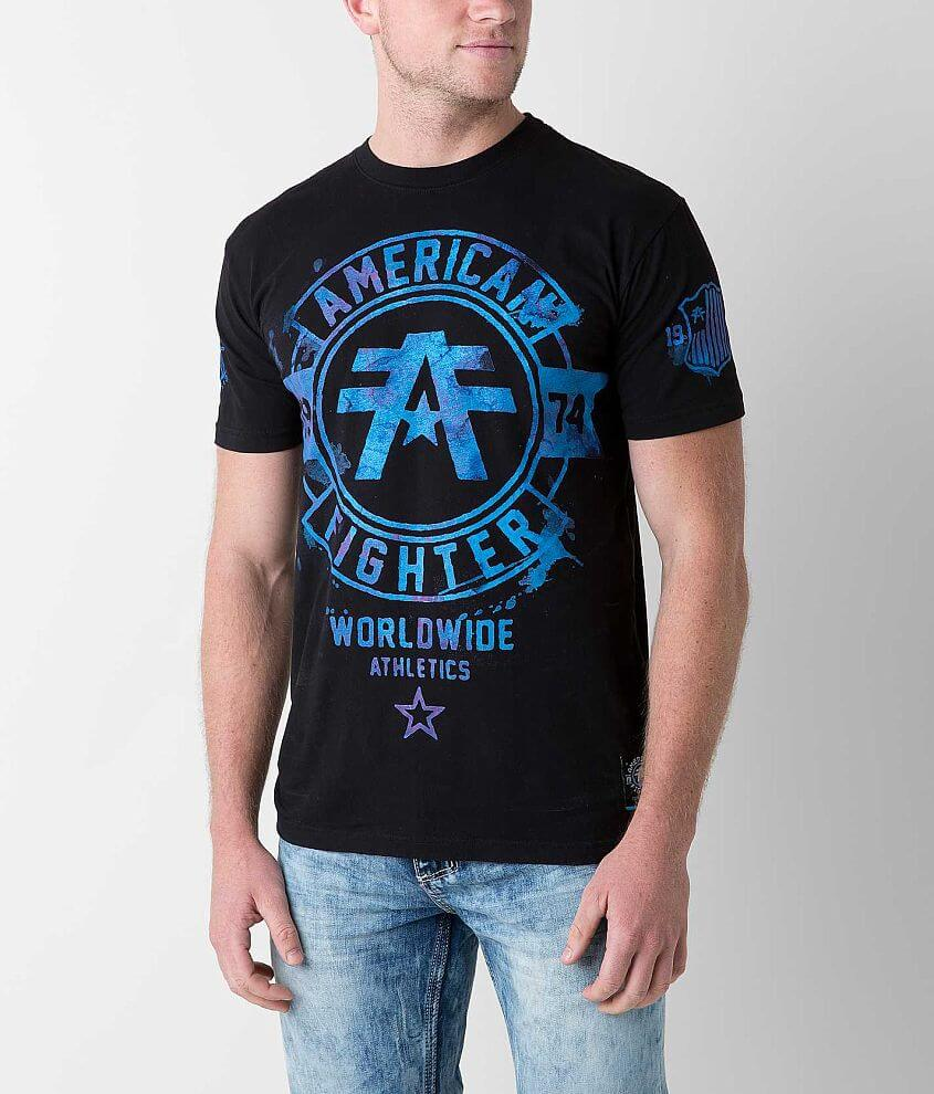 American Fighter Silver Lake T-Shirt front view