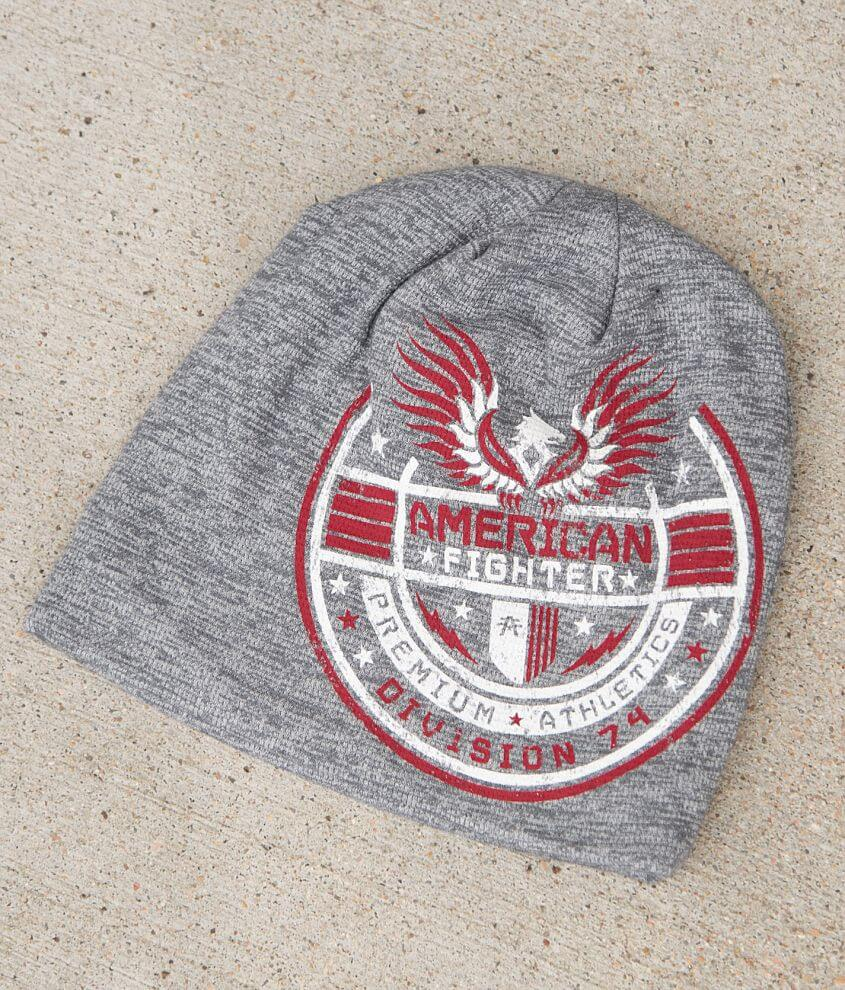 American Fighter Stillman Scribble Beanie front view