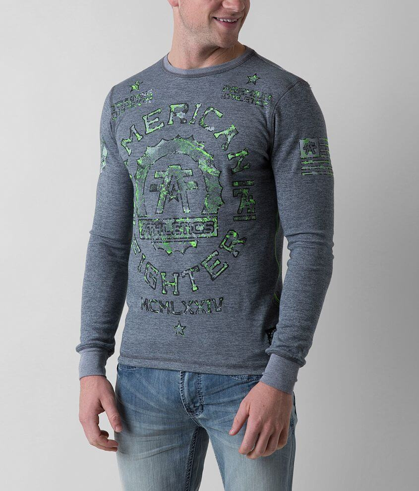 American Fighter Maryland Thermal Shirt front view