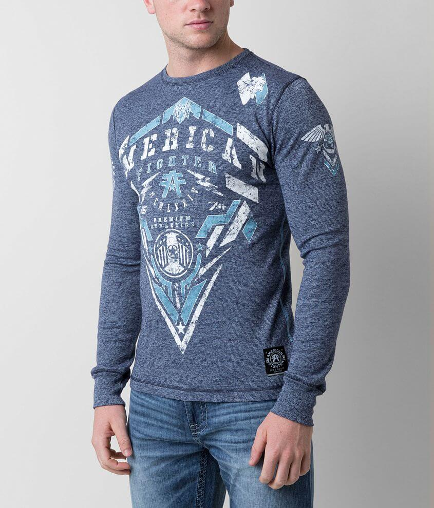 American Fighter Coastal Thermal Shirt front view