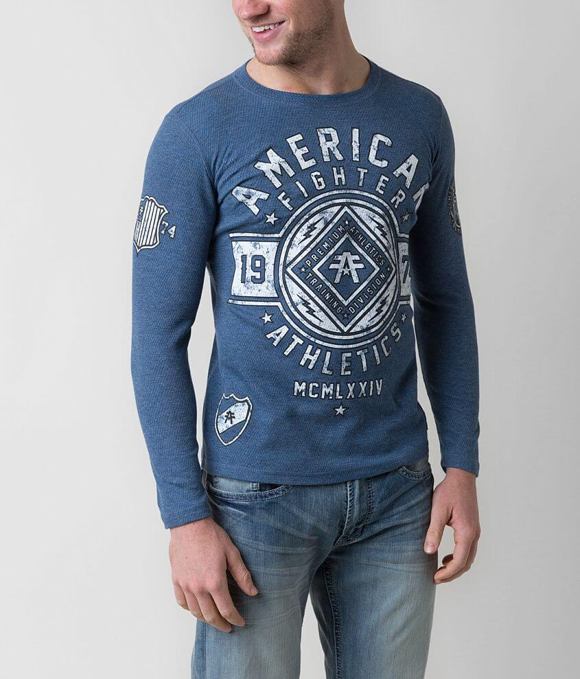 American Fighter Chestnut Hill Thermal Shirt front view