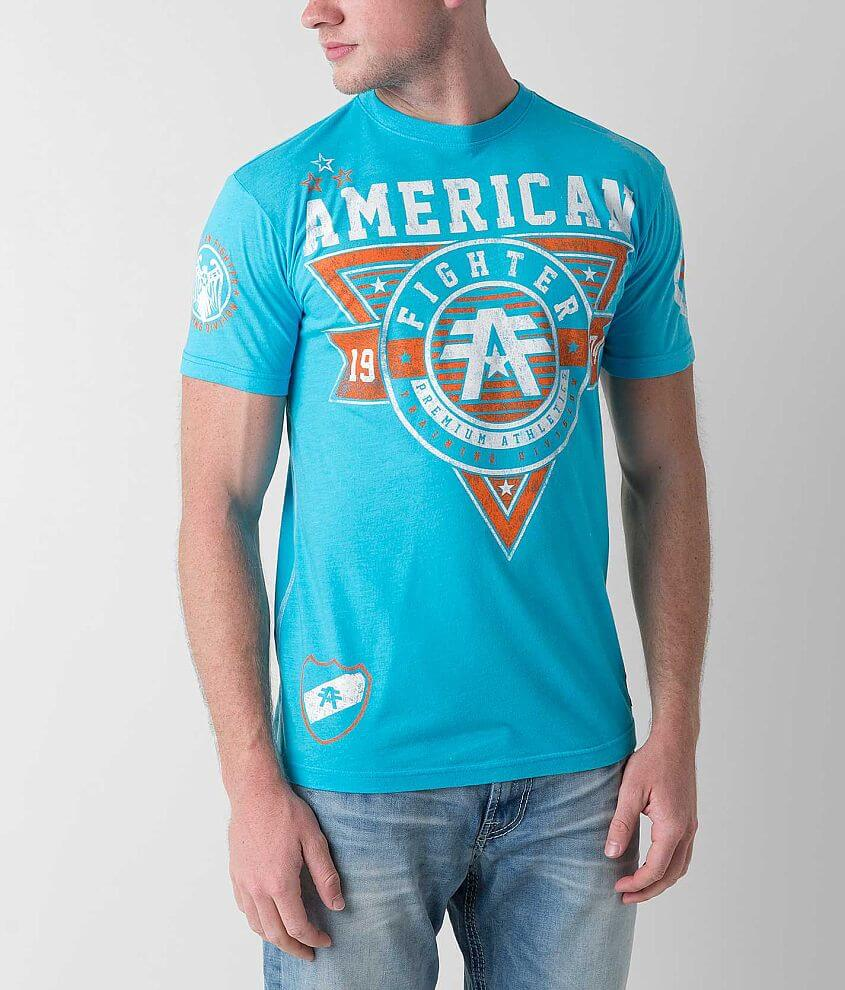 American Fighter Charleston Scratch T-Shirt front view