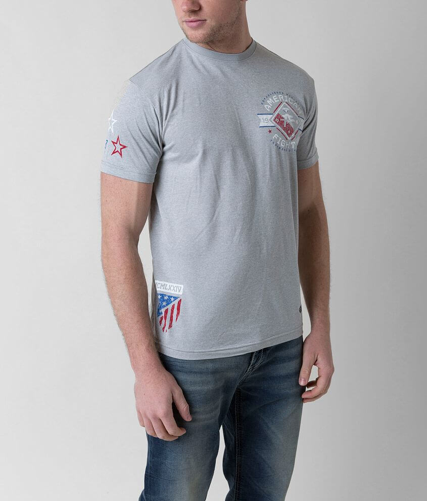 American Fighter Massachusetts Hydrocore T-Shirt front view