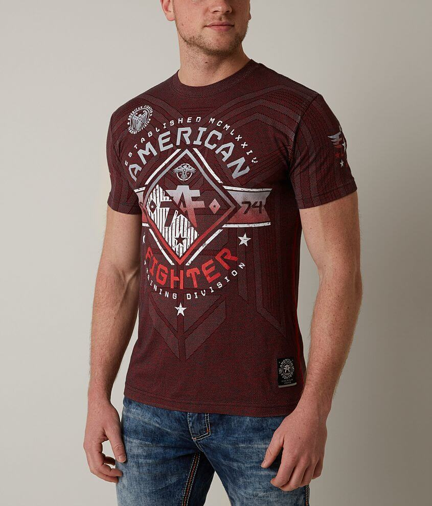 American Fighter Massachusetts T-Shirt front view