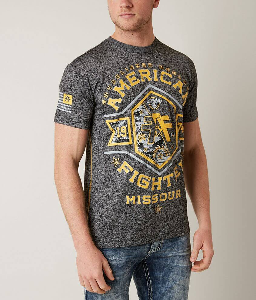 American Fighter Missouri Pride T-Shirt front view