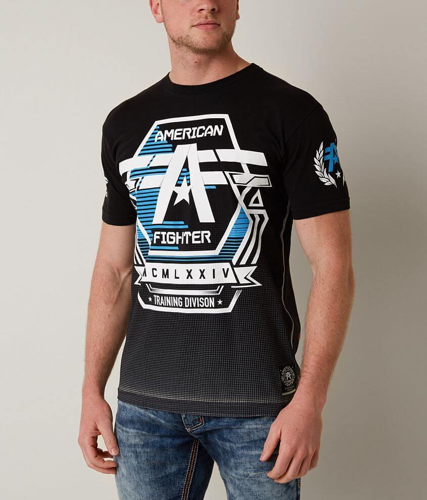 American Fighter Warren T-Shirt front view