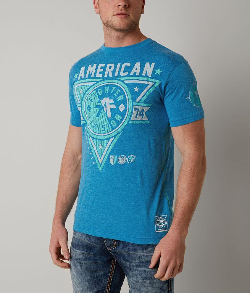 American Fighter Siena Heights T-Shirt front view