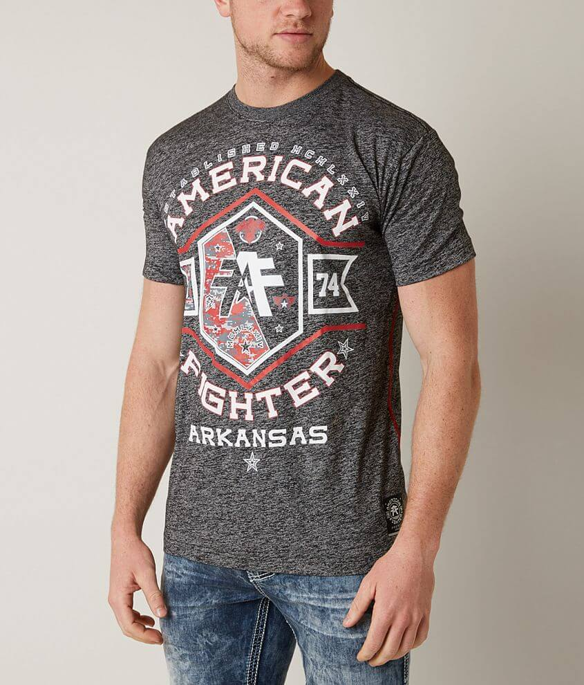 American Fighter Arkansas T-Shirt front view