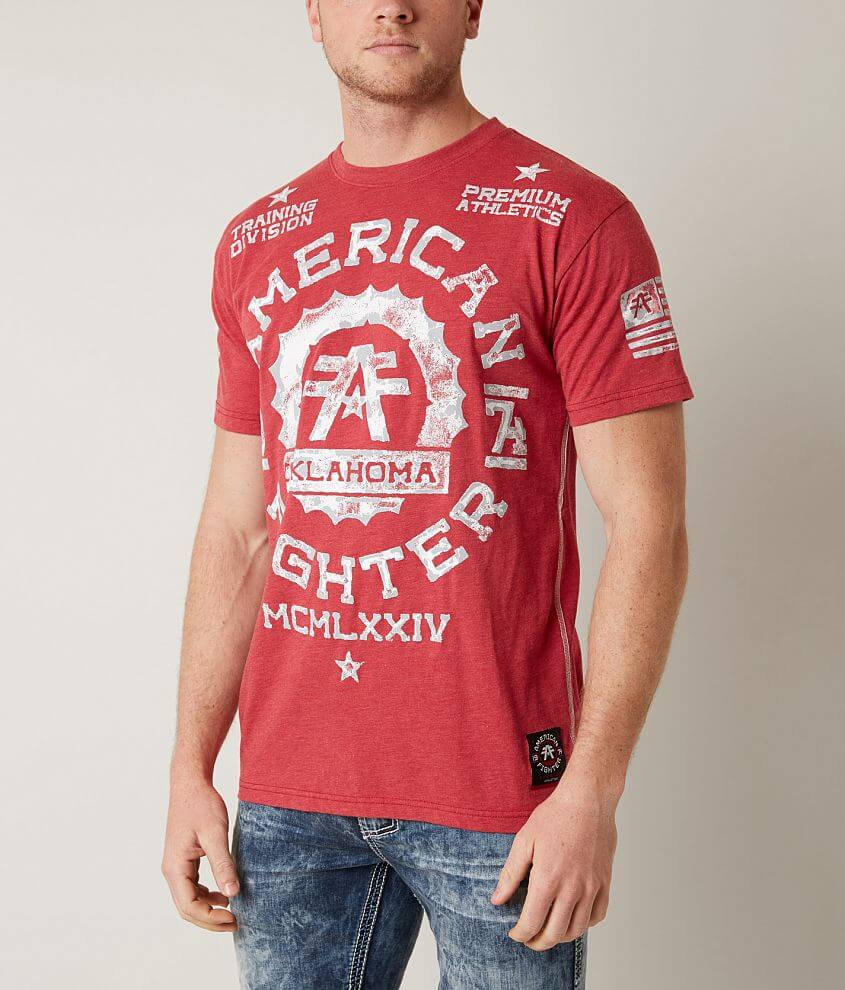 American Fighter Oklahoma Pride T-Shirt front view