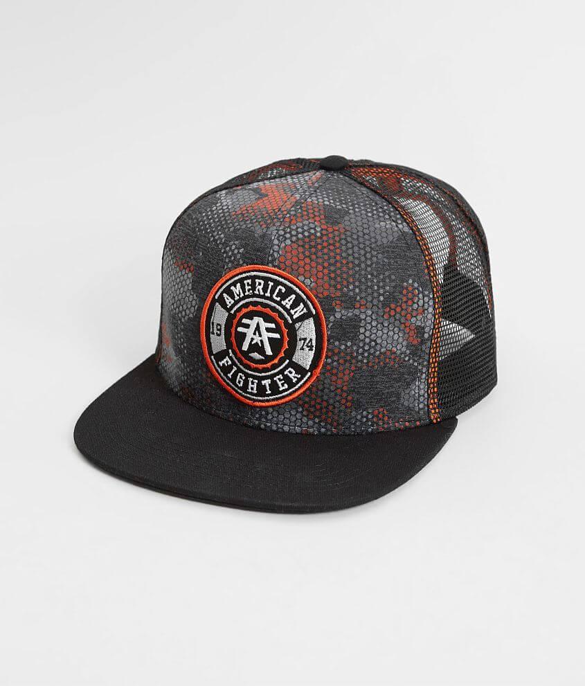 bdf0bf0d06e American Fighter Yale Trucker Hat - Men s Hats in Black