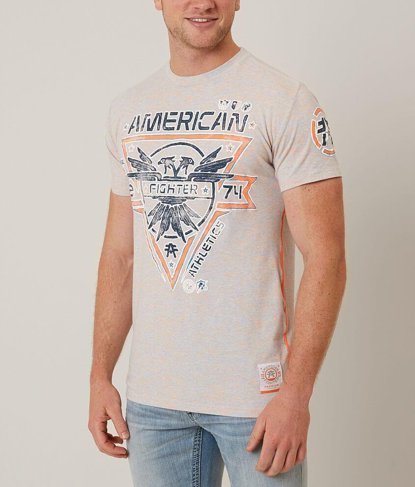 American Fighter Bay State T-Shirt front view