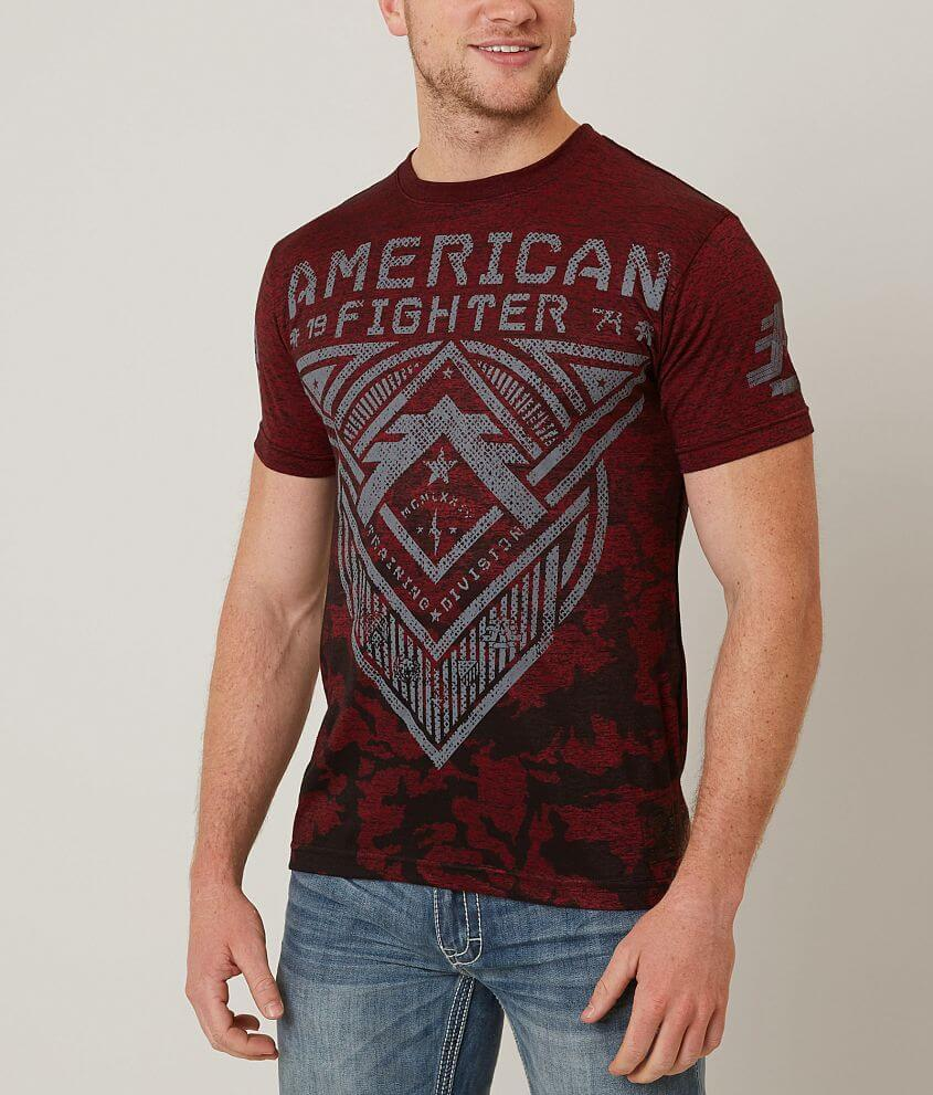 American Fighter Roosevelt T-Shirt front view