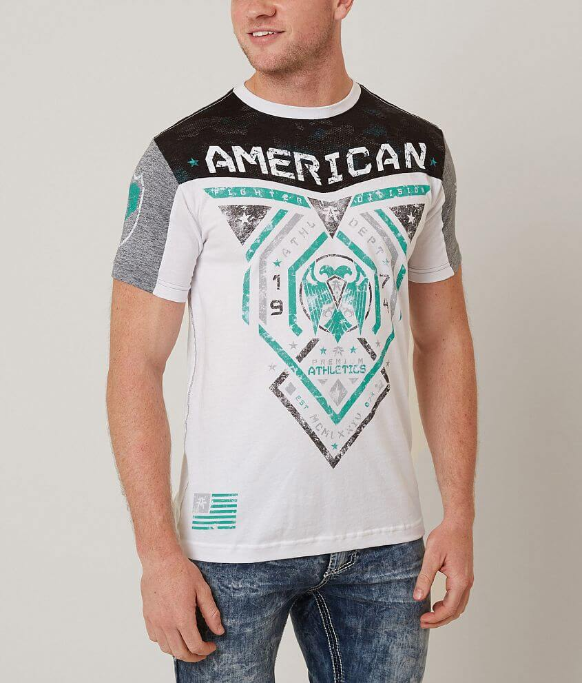 American Fighter Blue Mountain T-Shirt front view