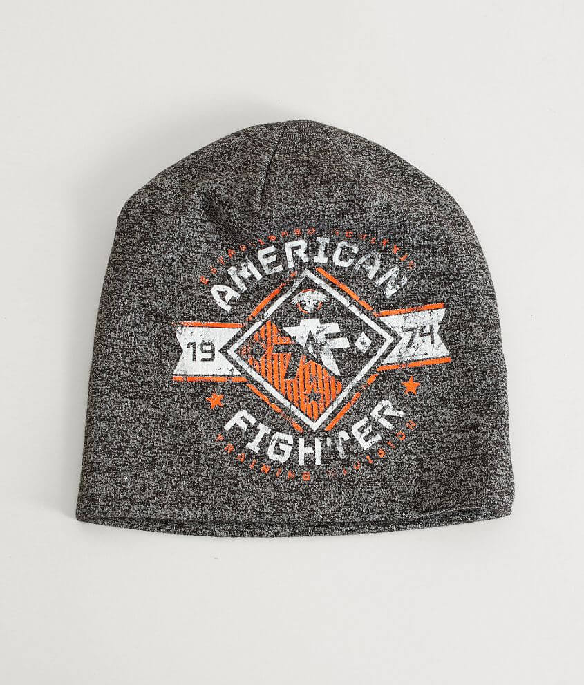 American Fighter Massachusetts Reversible Beanie front view