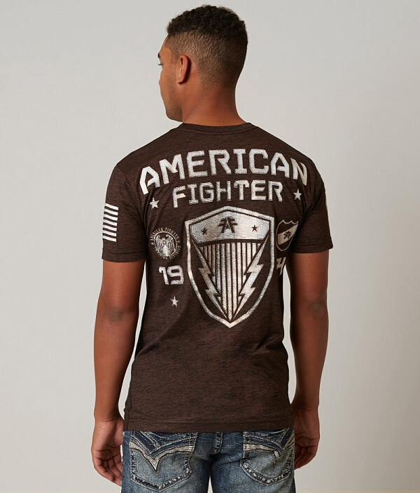 Fighter American T Shirt Fighter T Langley Shirt Langley American Fighter American Tqdq0