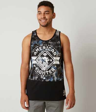American Fighter Massachusetts Tank Top