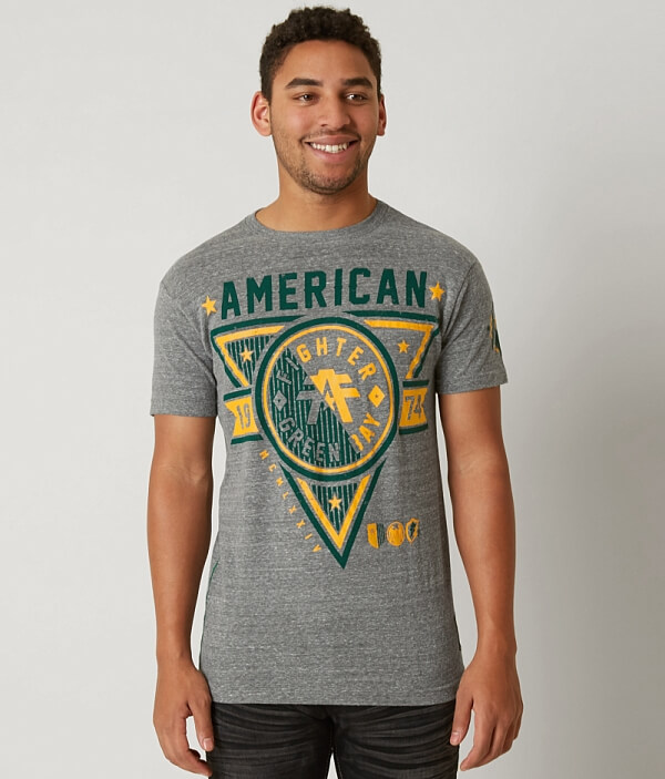 Fighter Bay American Shirt T Green 8HxRqwS