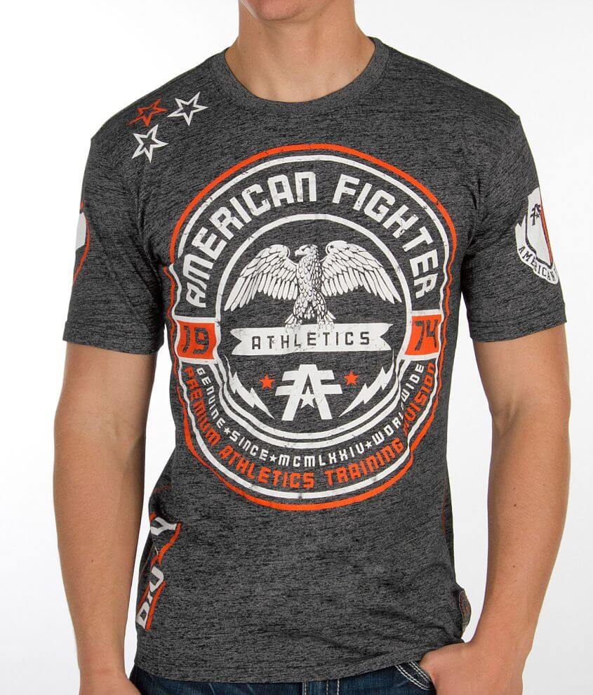 American Fighter Rollins Jersey T-Shirt front view