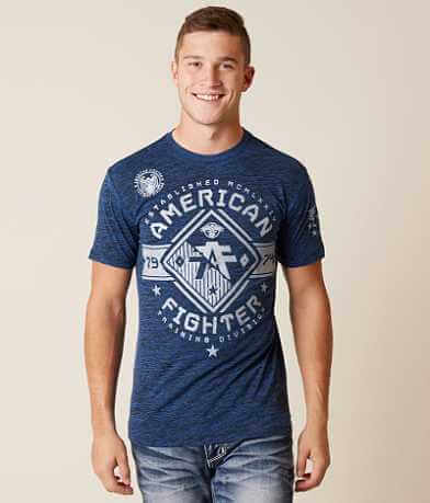 American Fighter Massachusetts T-Shirt