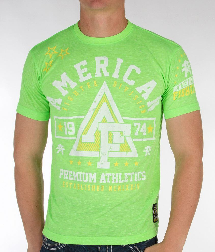 American Fighter Trident T-Shirt front view