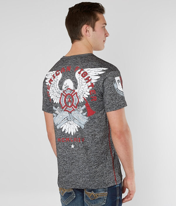 American Shirt T Courage Fighter Courage American Fighter q0wP5