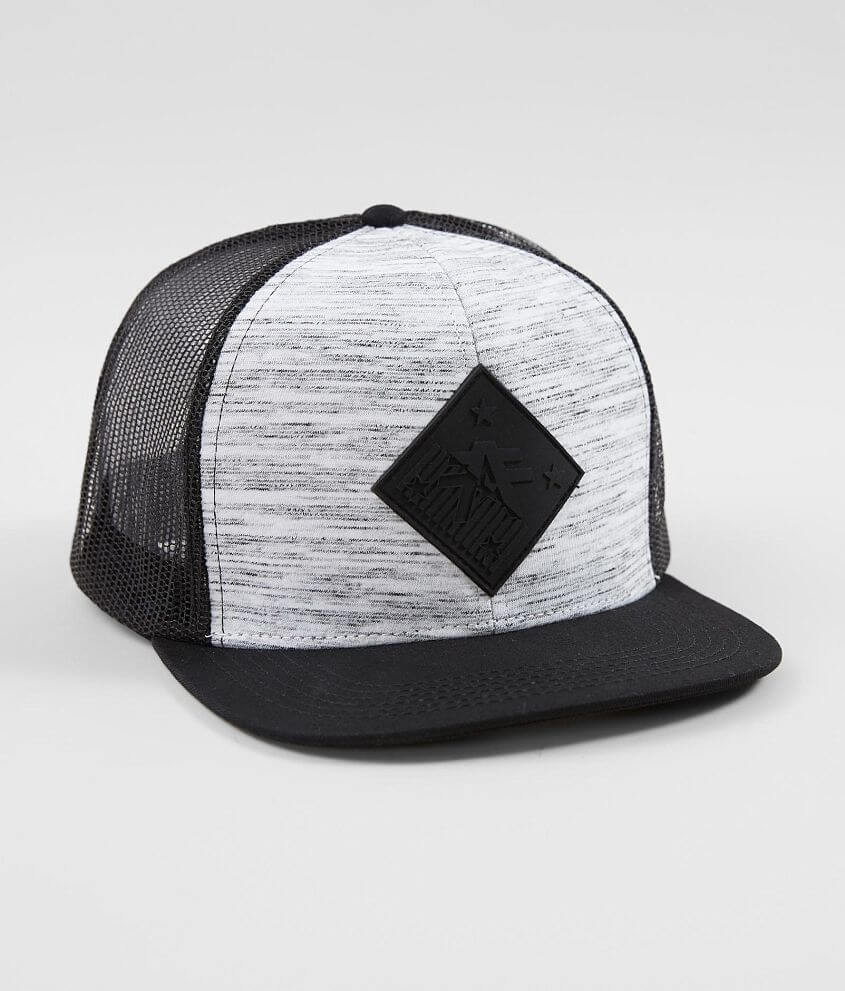 Style FM7742/Sku 947964 Tonal embossed rubber patch marled snapback hat One size fits most