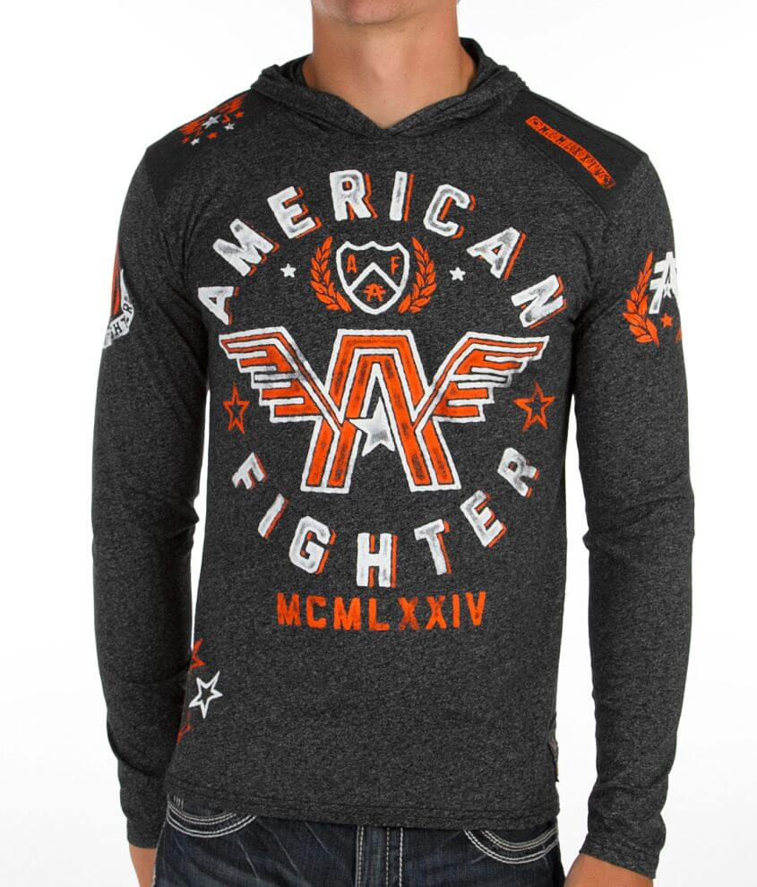American Fighter Notre Dame Hoodie front view
