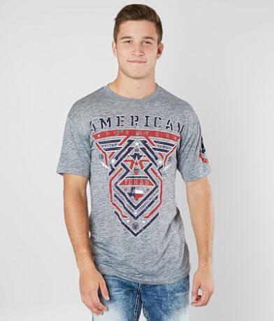 American Fighter Texas Born T-Shirt
