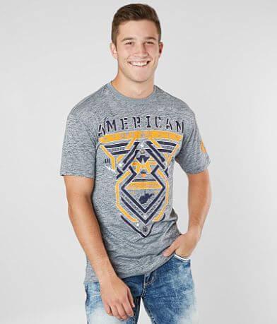 American Fighter West Virginia Born T-Shirt