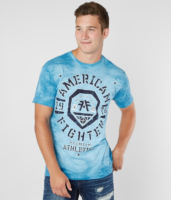 Fighter American Weathers Shirt T T Fighter American Weathers xIwxrg1H