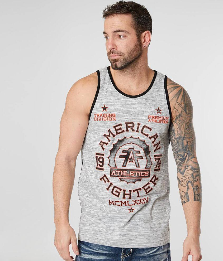 American Fighter Maryland Tank Top front view