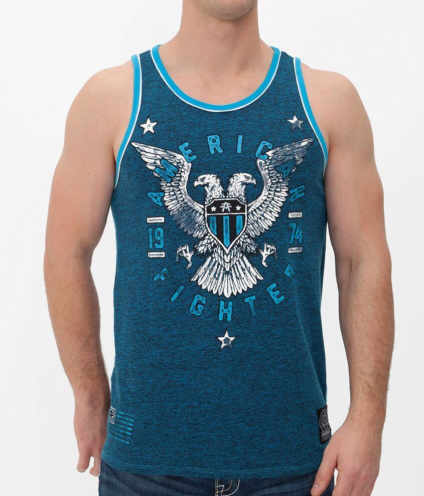 American Fighter Jamestown Tank Top front view