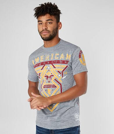 American Fighter Minnesota Born T-Shirt