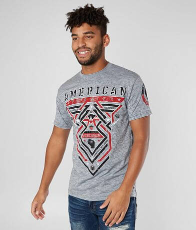 American Fighter Wisconsin Born T-Shirt