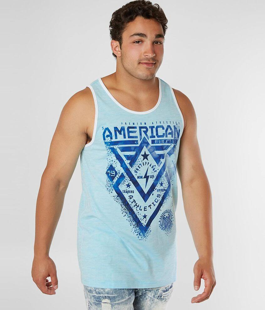American Fighter Alaska Tank Top front view