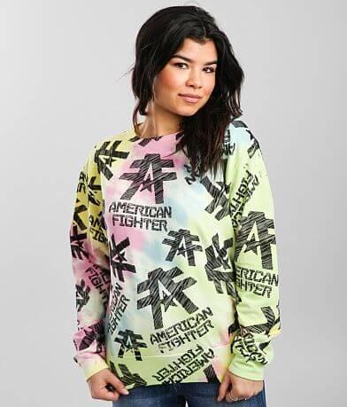 American Fighter Sketch Crew Sweatshirt