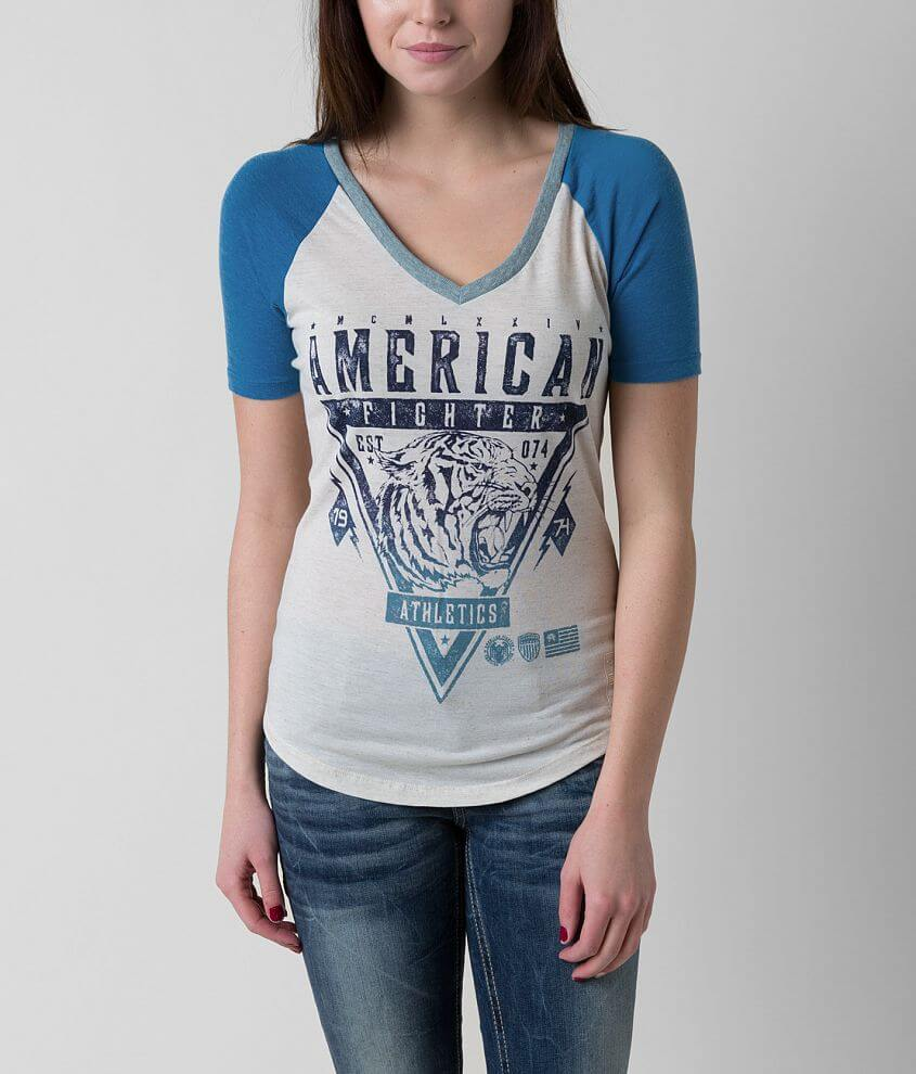 American Fighter Wisconsin T-Shirt front view