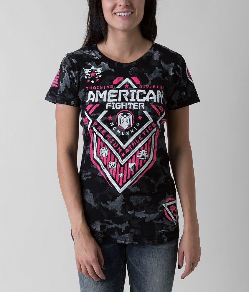 American Fighter North Dakota Artisan T-Shirt front view