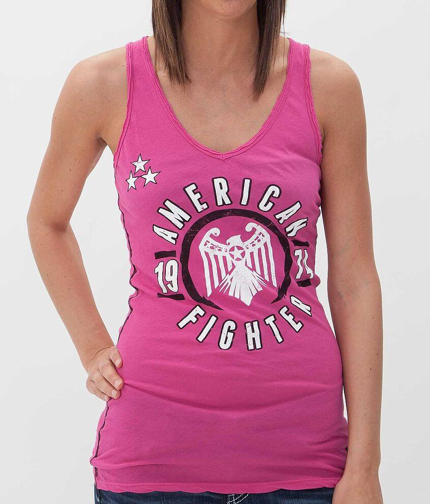 American Fighter Davis Tank Top front view